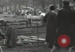 Image of workers dig trench London England United Kingdom, 1938, second 4 stock footage video 65675064221