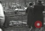 Image of workers dig trench London England United Kingdom, 1938, second 9 stock footage video 65675064221