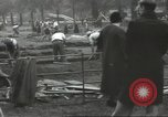 Image of workers dig trench London England United Kingdom, 1938, second 10 stock footage video 65675064221