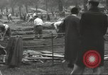 Image of workers dig trench London England United Kingdom, 1938, second 11 stock footage video 65675064221