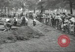 Image of workers dig trench London England United Kingdom, 1938, second 12 stock footage video 65675064221