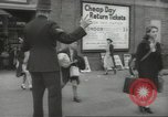 Image of British children evacuating London in World War 2 London England United Kingdom, 1939, second 11 stock footage video 65675064227