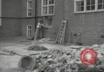 Image of World War 2 airlock at Saint Clement Dane's Grammar School London England United Kingdom, 1939, second 12 stock footage video 65675064232