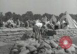 Image of British workers prepare defenses for World War 2 London England United Kingdom, 1939, second 3 stock footage video 65675064235