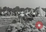 Image of British workers prepare defenses for World War 2 London England United Kingdom, 1939, second 4 stock footage video 65675064235