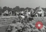 Image of British workers prepare defenses for World War 2 London England United Kingdom, 1939, second 6 stock footage video 65675064235