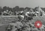 Image of British workers prepare defenses for World War 2 London England United Kingdom, 1939, second 7 stock footage video 65675064235