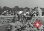 Image of British workers prepare defenses for World War 2 London England United Kingdom, 1939, second 8 stock footage video 65675064235
