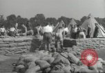 Image of British workers prepare defenses for World War 2 London England United Kingdom, 1939, second 9 stock footage video 65675064235