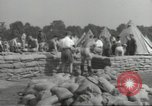 Image of British workers prepare defenses for World War 2 London England United Kingdom, 1939, second 10 stock footage video 65675064235