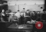 Image of Production of  Hebrew  newspaper Haaretz Palestine, 1945, second 3 stock footage video 65675064261