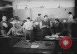 Image of Production of  Hebrew  newspaper Haaretz Palestine, 1945, second 4 stock footage video 65675064261
