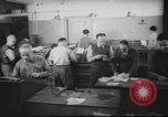 Image of Production of  Hebrew  newspaper Haaretz Palestine, 1945, second 5 stock footage video 65675064261