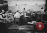 Image of Production of  Hebrew  newspaper Haaretz Palestine, 1945, second 8 stock footage video 65675064261