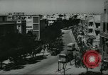 Image of traffic on street Tel Aviv Palestine, 1945, second 3 stock footage video 65675064264