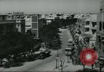 Image of traffic on street Tel Aviv Palestine, 1945, second 5 stock footage video 65675064264
