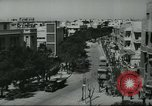 Image of traffic on street Tel Aviv Palestine, 1945, second 6 stock footage video 65675064264