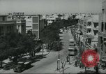 Image of traffic on street Tel Aviv Palestine, 1945, second 8 stock footage video 65675064264