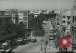 Image of traffic on street Tel Aviv Palestine, 1945, second 11 stock footage video 65675064264