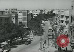 Image of traffic on street Tel Aviv Palestine, 1945, second 12 stock footage video 65675064264
