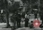 Image of Terminal of Regional buses Tel Aviv Palestine, 1945, second 4 stock footage video 65675064265