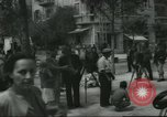 Image of Terminal of Regional buses Tel Aviv Palestine, 1945, second 5 stock footage video 65675064265