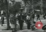Image of Terminal of Regional buses Tel Aviv Palestine, 1945, second 7 stock footage video 65675064265