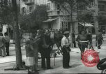 Image of Terminal of Regional buses Tel Aviv Palestine, 1945, second 9 stock footage video 65675064265