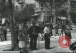 Image of Terminal of Regional buses Tel Aviv Palestine, 1945, second 10 stock footage video 65675064265