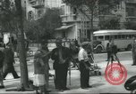 Image of Terminal of Regional buses Tel Aviv Palestine, 1945, second 12 stock footage video 65675064265