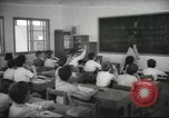 Image of Jewish children receiving instruction at Bialik Hebrew Day School Palestine, 1945, second 1 stock footage video 65675064275