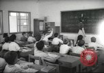 Image of Jewish children receiving instruction at Bialik Hebrew Day School Palestine, 1945, second 2 stock footage video 65675064275