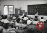 Image of Jewish children receiving instruction at Bialik Hebrew Day School Palestine, 1945, second 3 stock footage video 65675064275