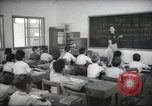 Image of Jewish children receiving instruction at Bialik Hebrew Day School Palestine, 1945, second 6 stock footage video 65675064275