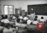 Image of Jewish children receiving instruction at Bialik Hebrew Day School Palestine, 1945, second 7 stock footage video 65675064275