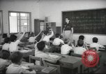 Image of Jewish children receiving instruction at Bialik Hebrew Day School Palestine, 1945, second 8 stock footage video 65675064275