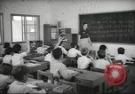 Image of Jewish children receiving instruction at Bialik Hebrew Day School Palestine, 1945, second 11 stock footage video 65675064275