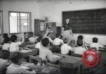Image of Jewish children receiving instruction at Bialik Hebrew Day School Palestine, 1945, second 12 stock footage video 65675064275