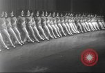 Image of Rockettes New York City USA, 1937, second 9 stock footage video 65675064292