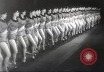 Image of Rockettes New York City USA, 1937, second 6 stock footage video 65675064294