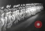 Image of Rockettes New York City USA, 1937, second 7 stock footage video 65675064294