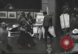 Image of American protesters New York City USA, 1937, second 3 stock footage video 65675064295