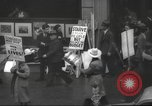 Image of American protesters New York City USA, 1937, second 6 stock footage video 65675064295