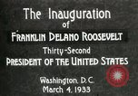 Image of Franklin Delano Roosevelt inauguration 1933 Washington DC USA, 1933, second 6 stock footage video 65675064318