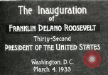 Image of Franklin Delano Roosevelt inauguration 1933 Washington DC USA, 1933, second 10 stock footage video 65675064318