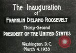 Image of Franklin Delano Roosevelt inauguration 1933 Washington DC USA, 1933, second 11 stock footage video 65675064318