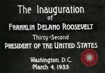 Image of Franklin Delano Roosevelt inauguration 1933 Washington DC USA, 1933, second 12 stock footage video 65675064318