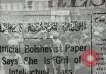 Image of Russian people demonstrating in Kronstadt Russia, 1924, second 1 stock footage video 65675064327