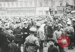 Image of Russian people demonstrating in Kronstadt Russia, 1924, second 2 stock footage video 65675064327