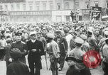 Image of Russian people demonstrating in Kronstadt Russia, 1924, second 3 stock footage video 65675064327